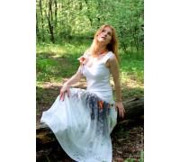 Платье ручной работы Стрекоза. Мастер Сасина Татьяна.